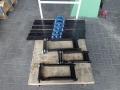 Fertigung Lagerplatten u. Jocheinbindungen