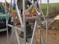 Vorbereitete Glockenanlage